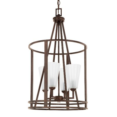 Jerrell 4-Light Foyer Pendant