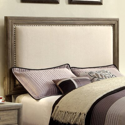 Aleyna Upholstered Panel Headboard Size: King