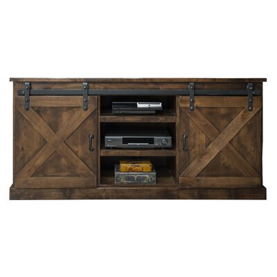 Clair 66 TV Stand Color: Antique Whiskey