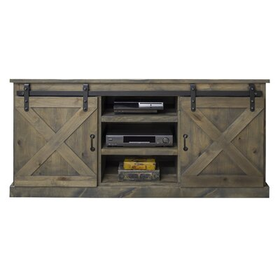 Clair 66 TV Stand Color: Barnwood