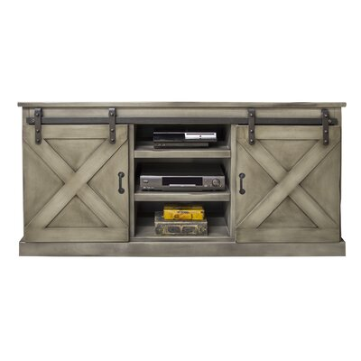 Clair 66 TV Stand Color: Antique Gray
