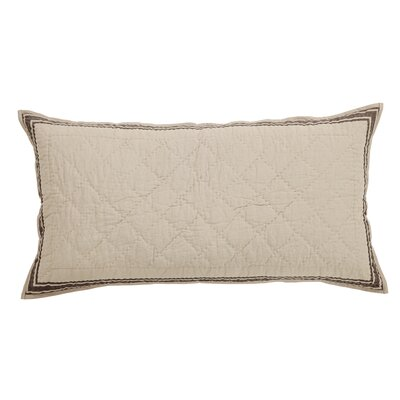 Boucher Sham Size: Luxury, Color: Slate