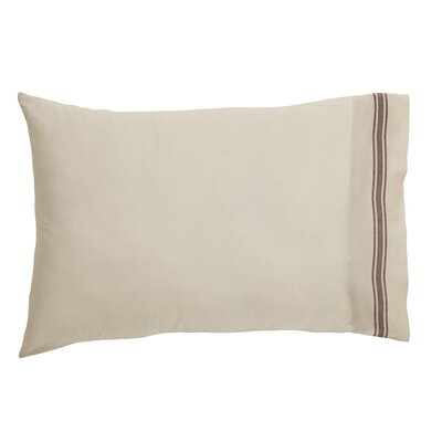 Boucher Cotton Pillow Cover Color: Slate
