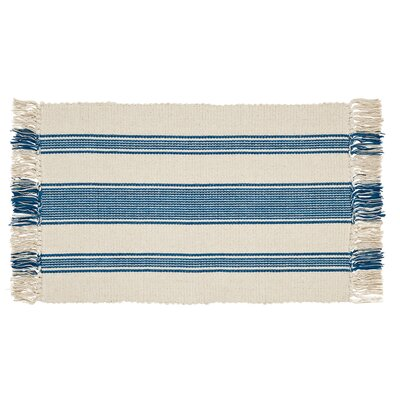 Boucher Blue Area Rug Rug Size: Rectangle 18 x 26