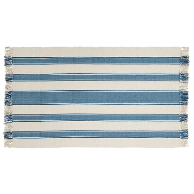 Boucher Blue Area Rug Rug Size: Rectangle 3' x 5'