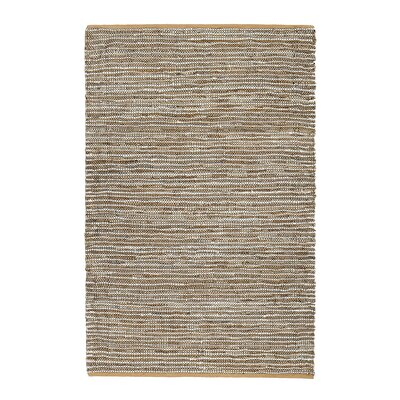Chambery Hand-Woven Tan/Brown Area Rug Rug Size: 4 x 6