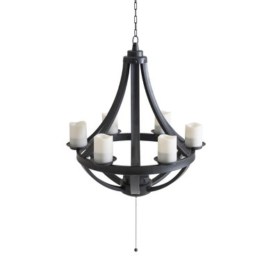 Cedarvale 6-Light Shaded Chandelier