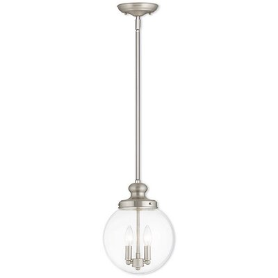 Cameron 2-Light Globe Pendant Finish: Brushed Nickel
