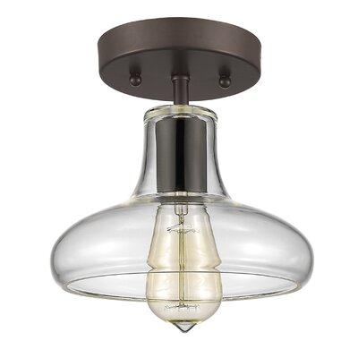 Bouvet 1-Light Semi Flush Mount
