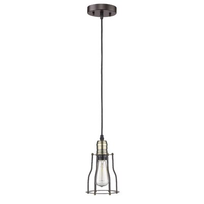 Armona 1-Light Oil Rubbed Bronze Mini Pendant