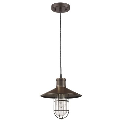 Armona 1-Light Metal Mini Pendant