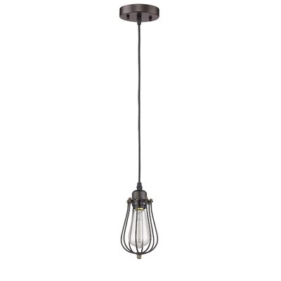 Armona 1-Light Clear Shade Mini Pendant