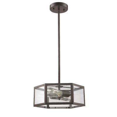 Bouvet 2-Light Mini Pendant