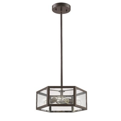 Bouvet 3-Light Mini Pendant