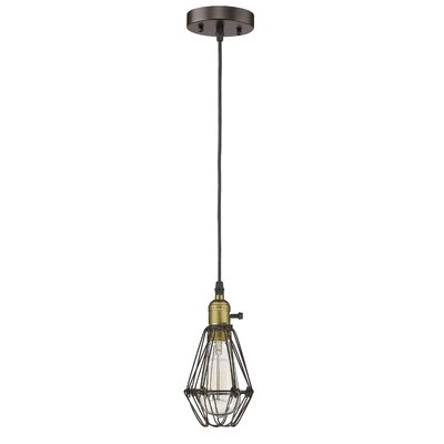 Armona 1-Light Steel Mini Pendant