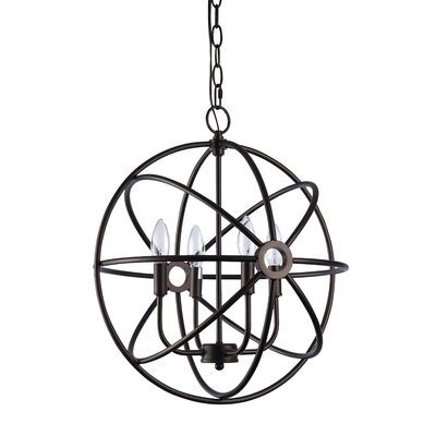 Saladino 4-Light Globe Pendant