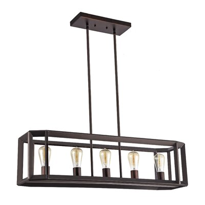 Bouvet 5-Light Kitchen Island Pendant