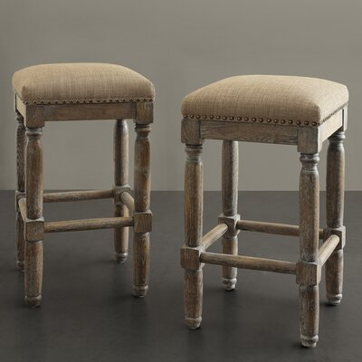 Remy 26 Bar Stool Upholstery: Sand