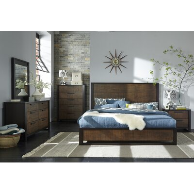 Arrie Platform Customizable Bedroom Set