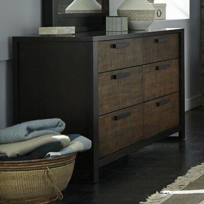Arrie 6 Drawer Dresser