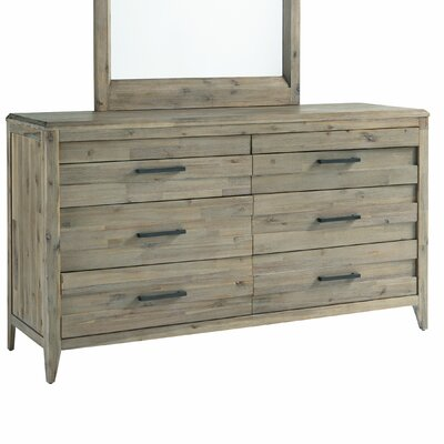 Descartes 6 Double Drawer Dresser