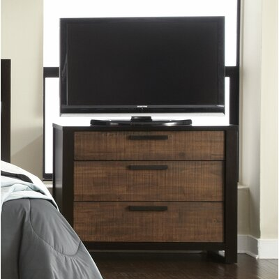 Arrie 3 Drawer Media Chest