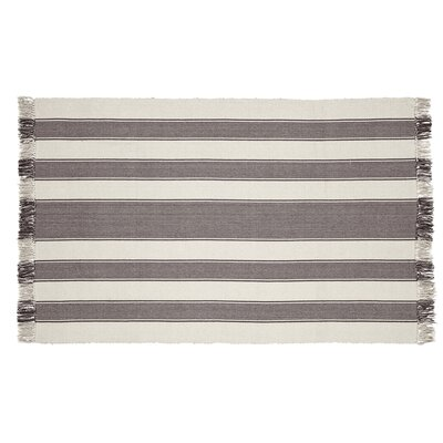 Boucher Slate Area Rug Rug Size: 4 x 6