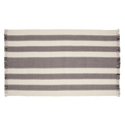 Boucher Slate Area Rug Rug Size: 5 x 8