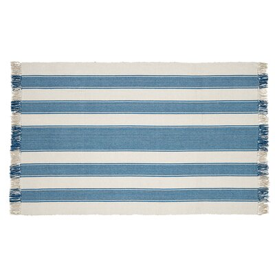 Boucher Blue Area Rug Rug Size: 4 x 6