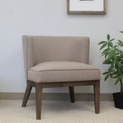 Barnard Barrel Chair Upholstery: Beige