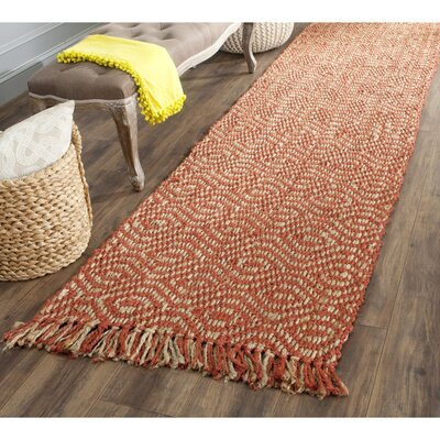 Muriel Rust Rug Rug Size: Square 6