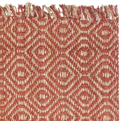 Muriel Rust Rug Rug Size: Rectangle 5 x 8