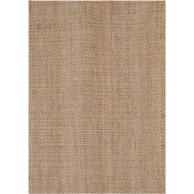 Muriel Hand Woven Brown Area Rug Rug Size: Rectangle 8 x 10