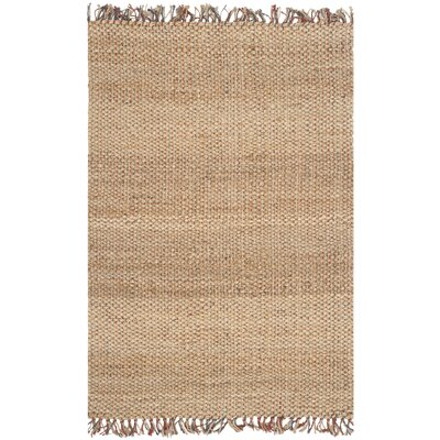 Muriel Hand Woven Brown Area Rug Rug Size: Rectangle 4 x 6