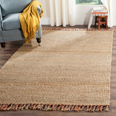 Muriel Light Brown Area Rug Rug Size: 9 x 12