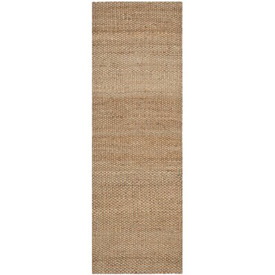 Muriel Light Brown Area Rug Rug Size: Runner 26 x 6