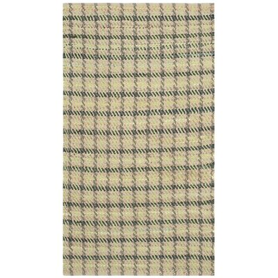 Montfort Green / Natural Area Rug Rug Size: 3 x 5