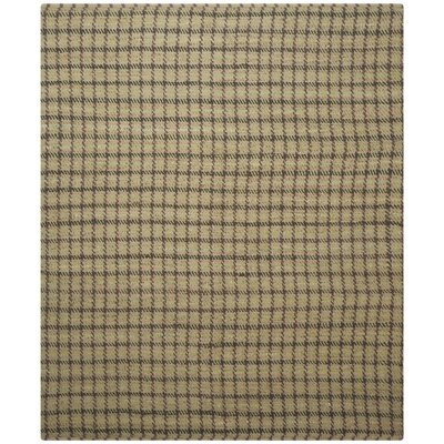 Montfort Green / Natural Area Rug Rug Size: 8 x 10