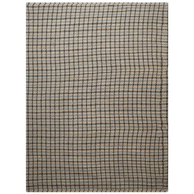 Montfort Hand-Woven Cotton Gray/Natural Area Rug Rug Size: Rectangle 8 x 10