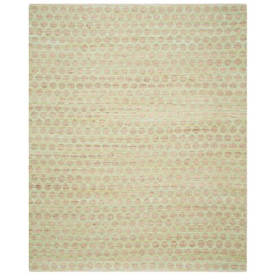 Montfort Green / Natural Area Rug Rug Size: Rectangle 8 x 10