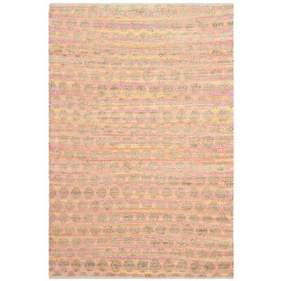 Montfort Orange / Natural Area Rug Rug Size: Rectangle 4 x 6