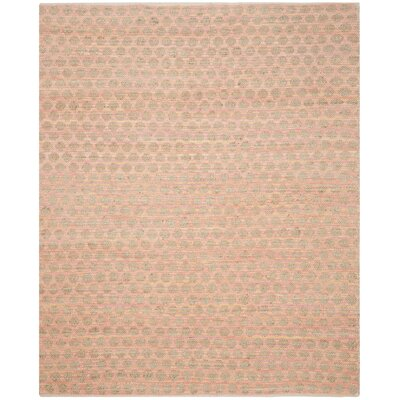 Montfort Orange / Natural Area Rug Rug Size: 8 x 10