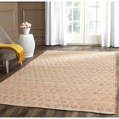 Montfort Orange / Natural Area Rug Rug Size: 5 x 8