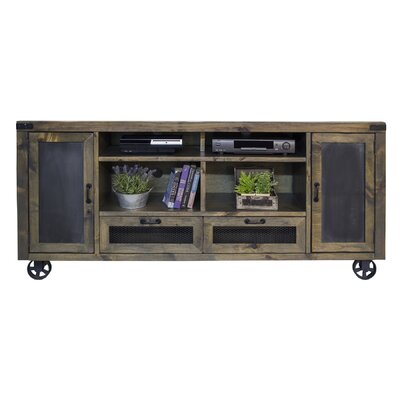 Osmin 66-76 TV Stand Width of TV Stand: 34.63 H x 76 W x 16.63 D