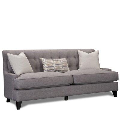 Carson Wingback Sofa Upholstery: Gray