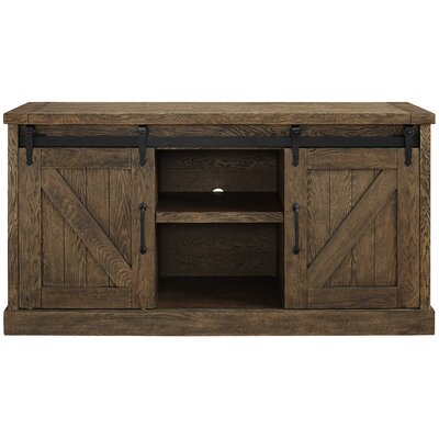 Octave 60 TV Stand Color: Weathered Oak