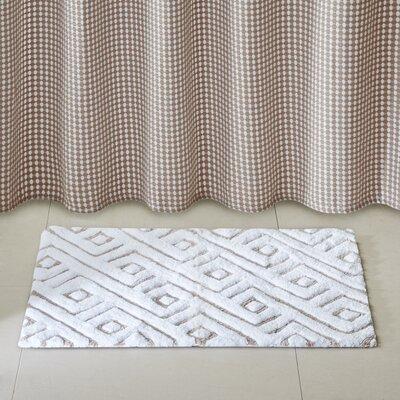 Morelle Bath Rug Size: 20 x 30, Color: Taupe