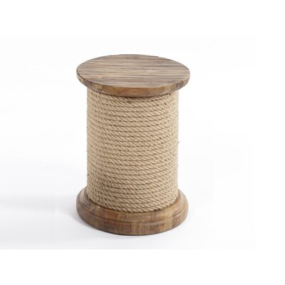Mount Zion End Table Finish: Beige