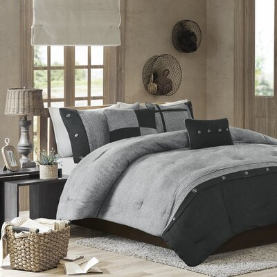 Morandiere 7 Piece Comforter Set Size: King