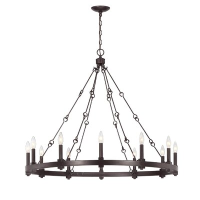 Montreal 12-Light Candle-Style Chandelier